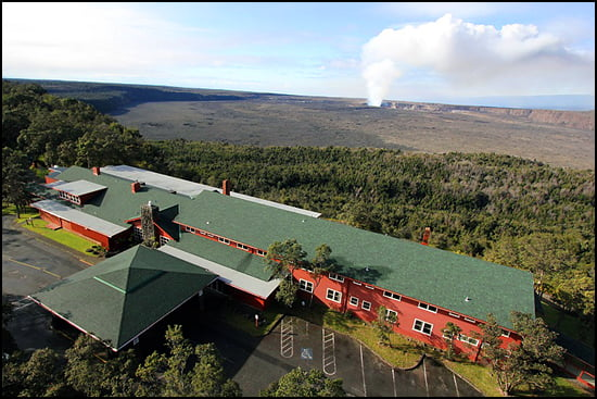 Volcano House Aerial Photo (Photo: NPS)