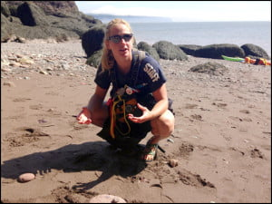 Guide-Amanda Reid-Bay-of-Fundy-Kayaking