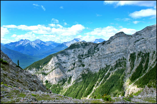 via-ferrata-mount-norquay-Summit Ridge