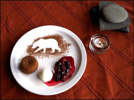 Dessert created by Chef Kaleigh Allen of Bear Claw Lodge. (Amanda Castleman Photo)