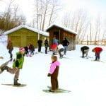Edmonton_Strathcona Wilderness Centre_Snowshoeing