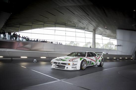 Masakuni Hosobuchi BMW M1 Procar at BMW Welt