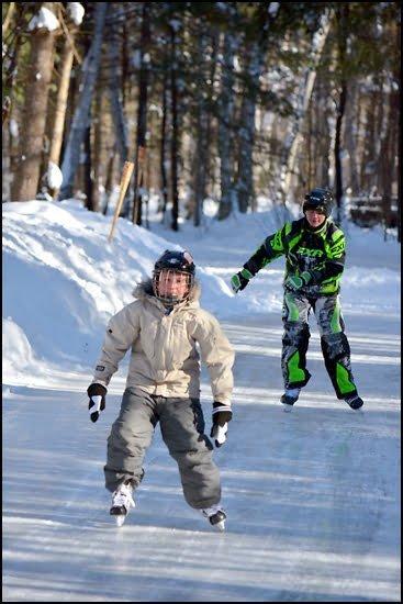 Ontario-Parks-ice-skating-arrowhead-provincial-park
