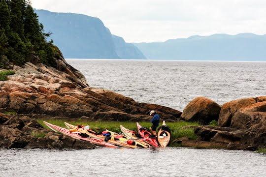 Kayaking the Saguenay Fjord