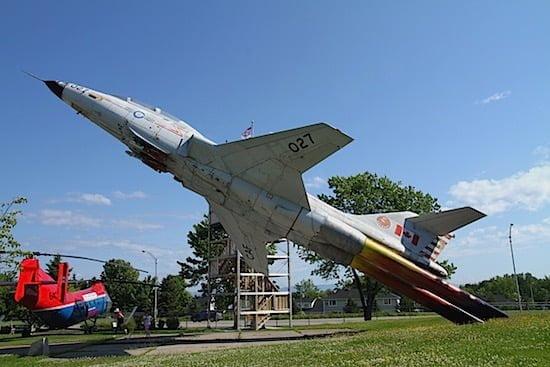 Plane at Musée de la Défense aérienne de Bagotville Quebec.jpg