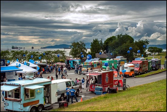Food-trucks-vancouver-beach