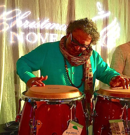 vikram-vij-drums-christmas-in-november-jasper-alberta