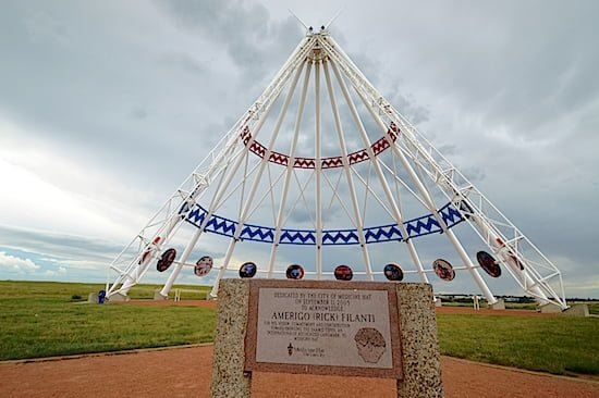 TePee with Dedication to Amerigo (Rick) Nella Filanti-jdd