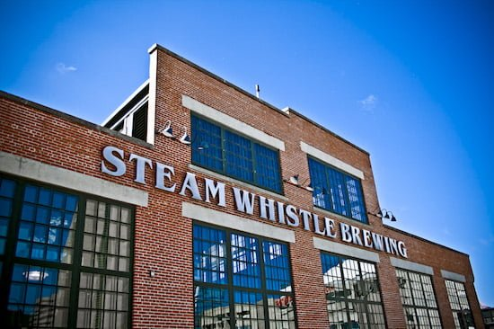 Steam Whistle Brewing- Outside brewery 2- Photo credit Steam Whistle Brewing
