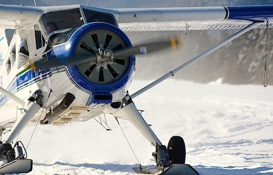 ski-plane-mauricie-quebec
