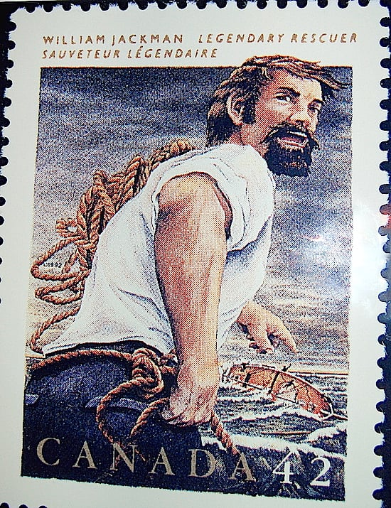 42 cent Legendary Rescuer postage stamp ~ Al Luke