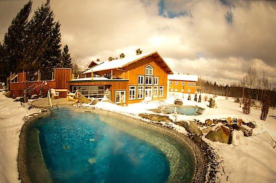 Outdoor baths-Eastman-Spa-Quebec