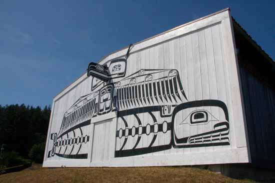 U'mista Cultural Centre in Alert Bay, B.C.