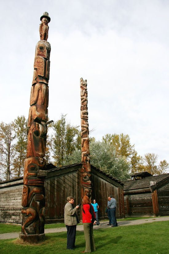 Ksan-historical-village-and-musem-totem-poles