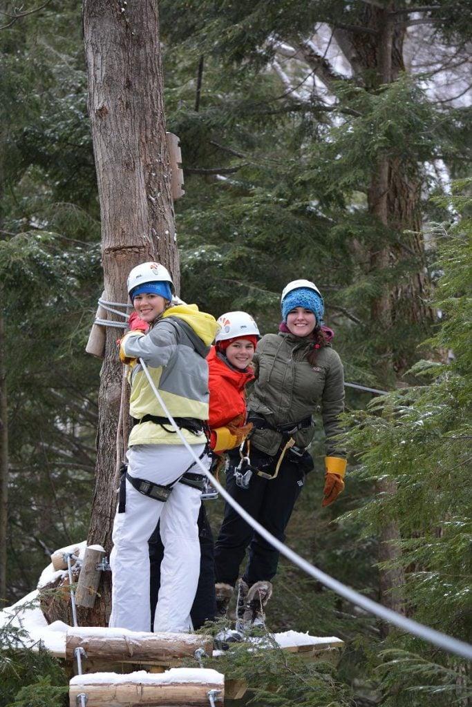 8. Treetop Trekking