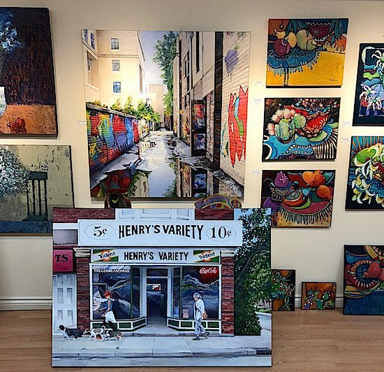 henrys variety painting junction