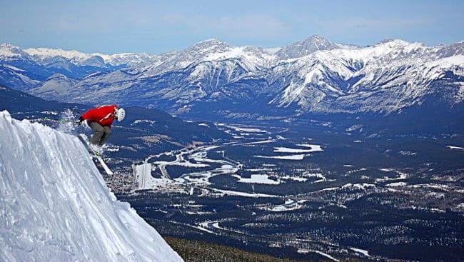 Marmot-Basin-skier
