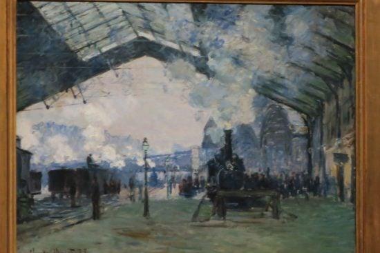 AGO Monet Gare St. Lazare IMG_8802