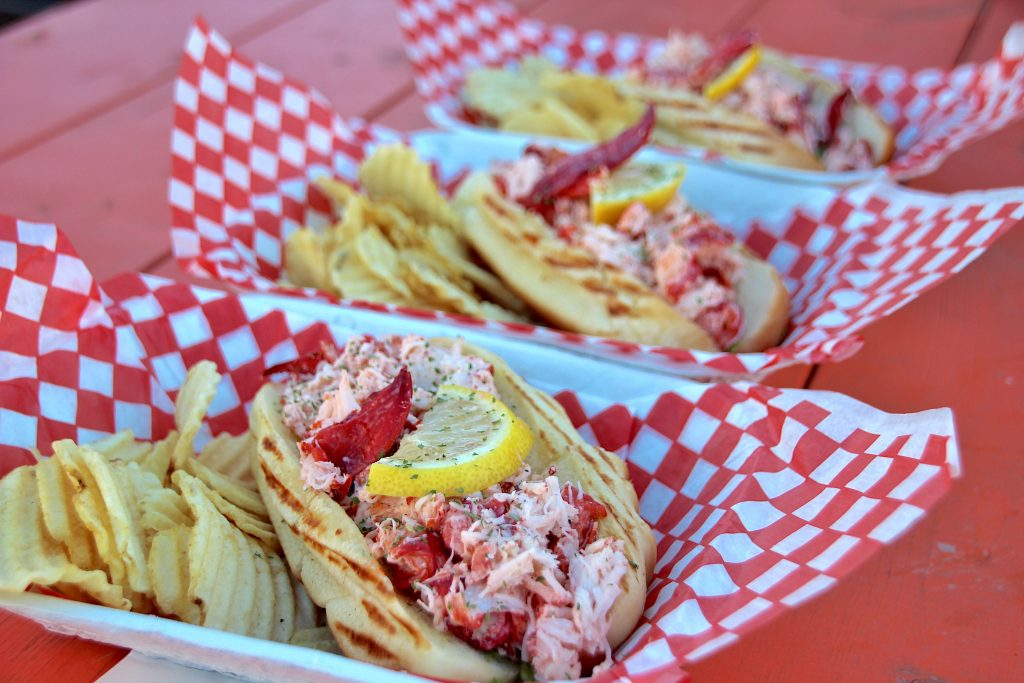 Lobster rolls, Peggy's Cove lobster, NS
