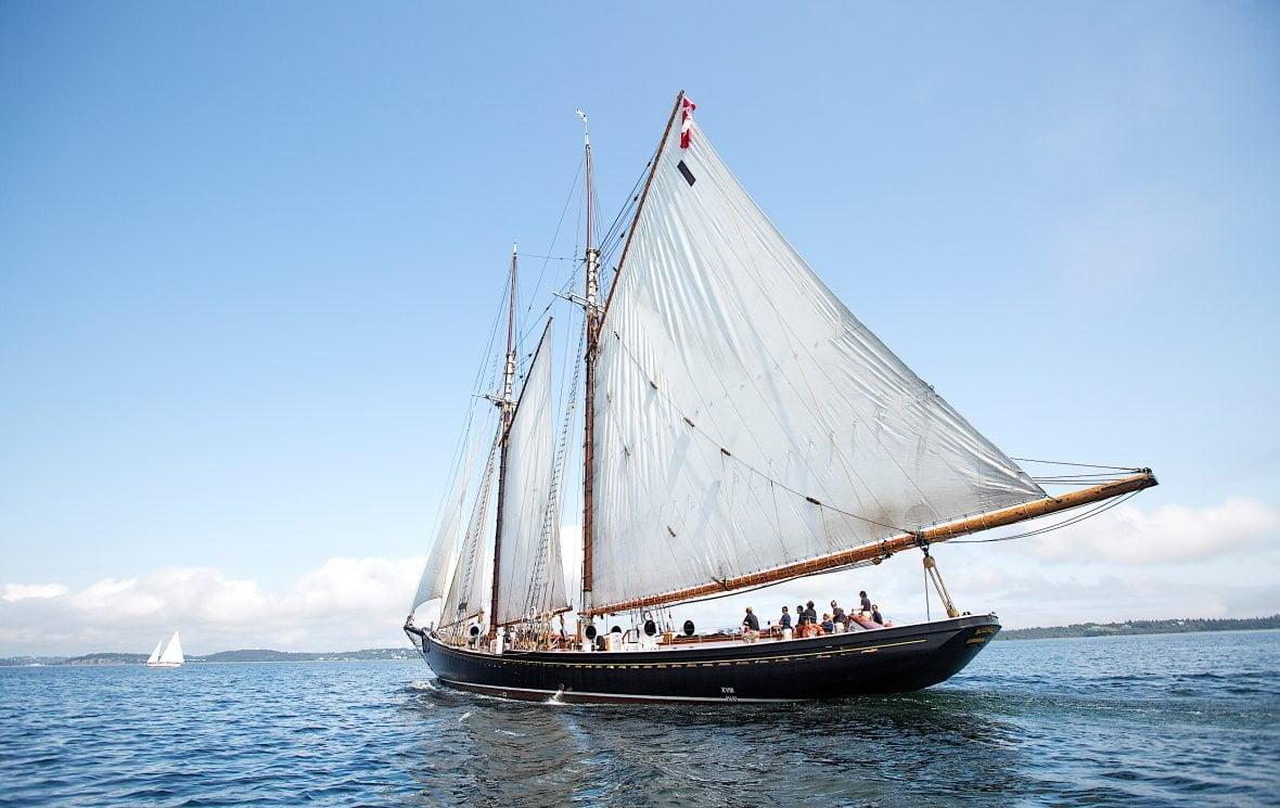 The Bluenose II Lunenburg Nova Scotia