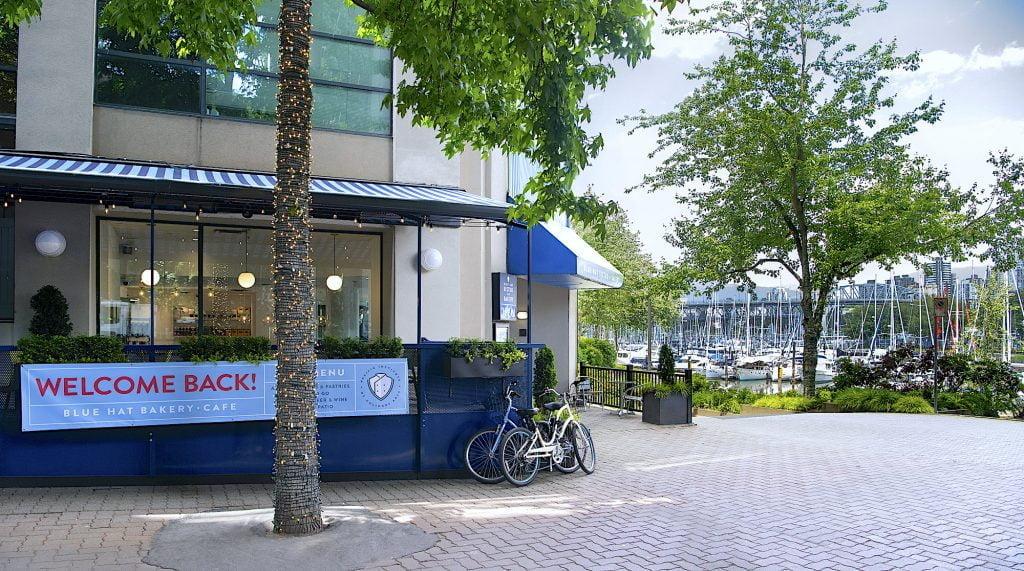 Vancouver Staycation - Blue Hat Bakery Cafe