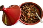tagine with moroccan lamb stew