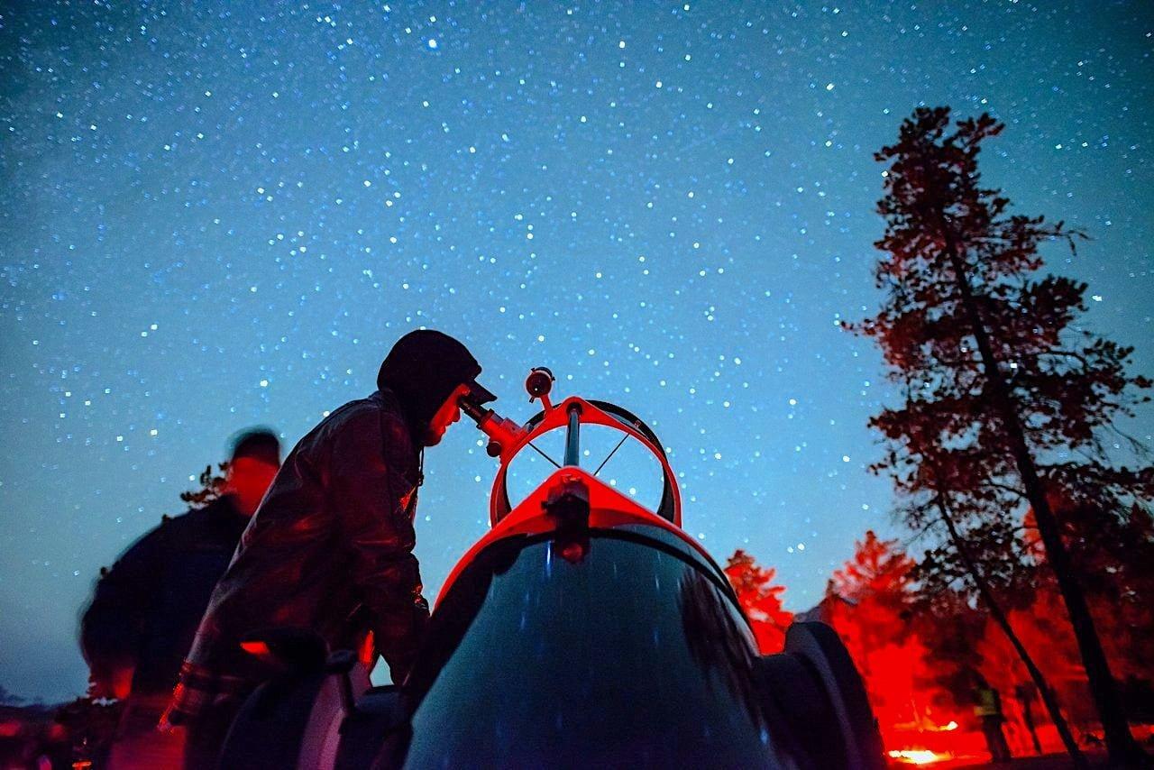 Jasper Dark Sky Festival telescope Jeff-Bartlett
