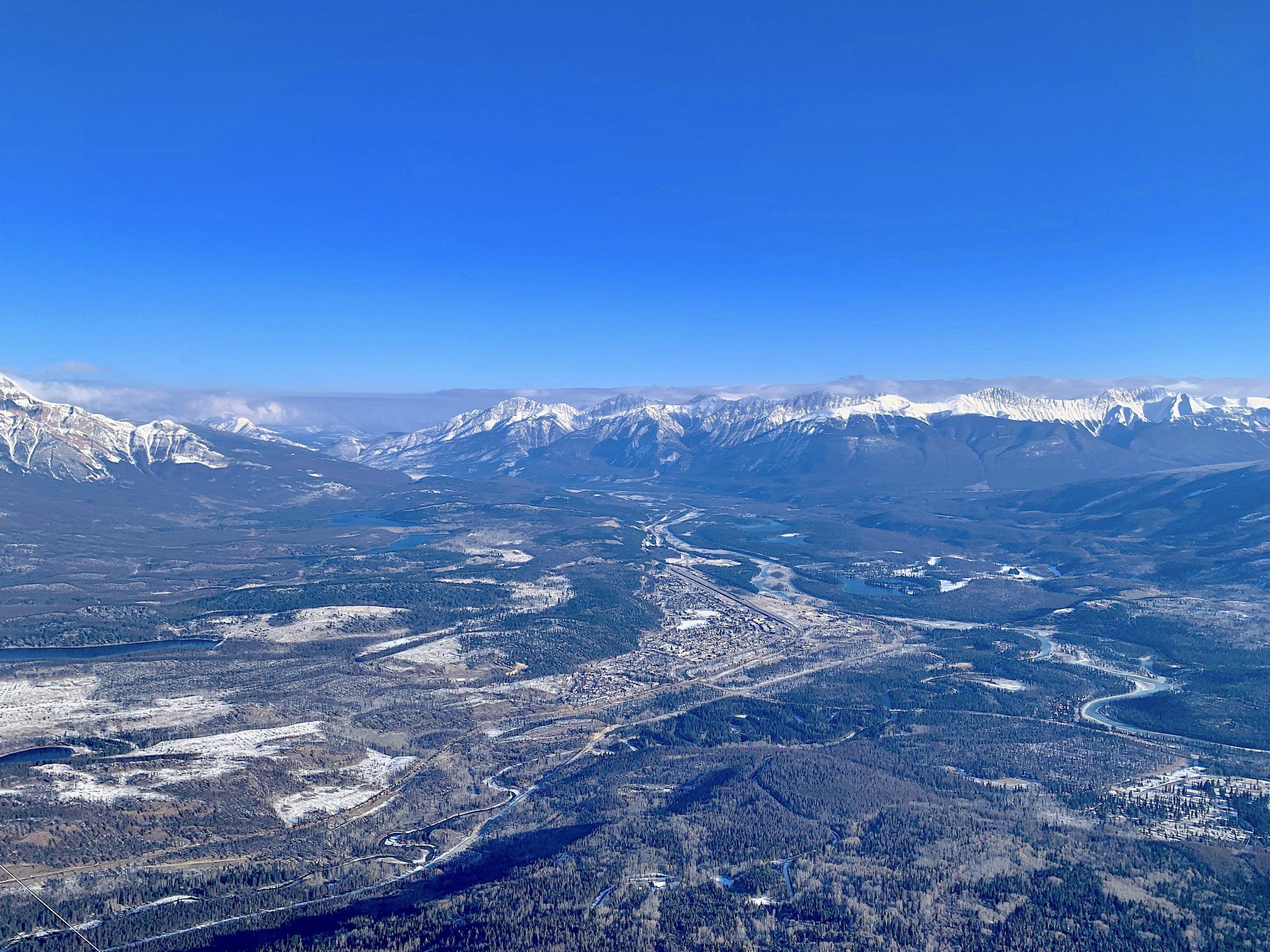 View of Jasper skies from Jasper SkyTram Jennifer Bain