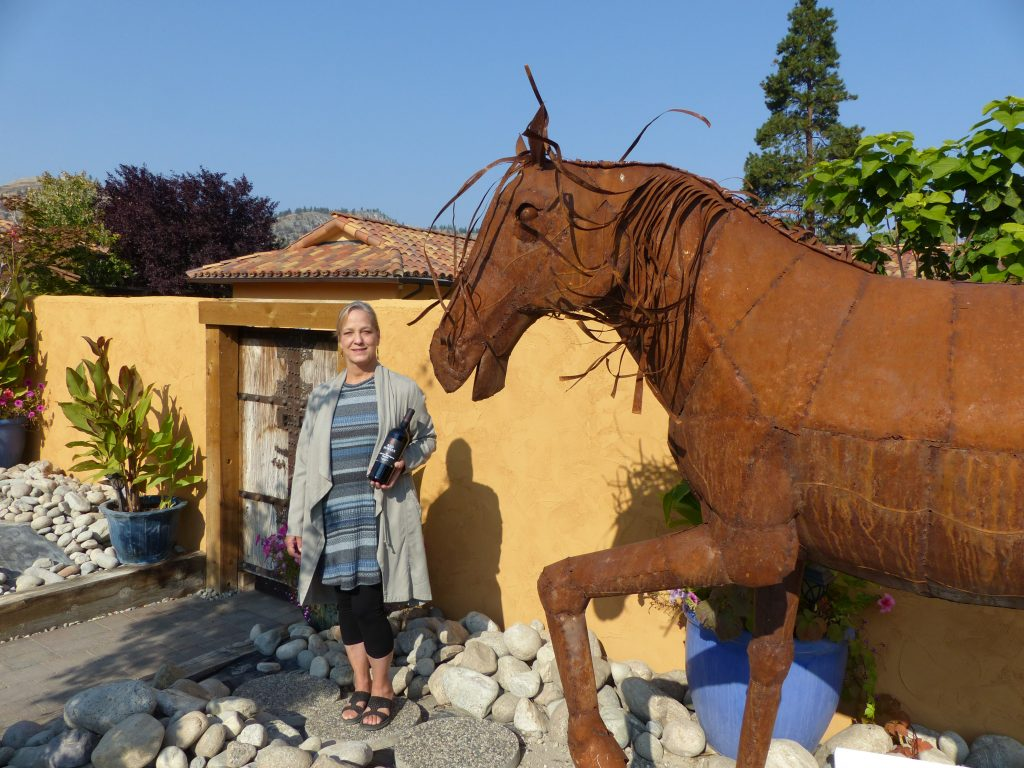 Eileen Fortin-RedHorses-Winery