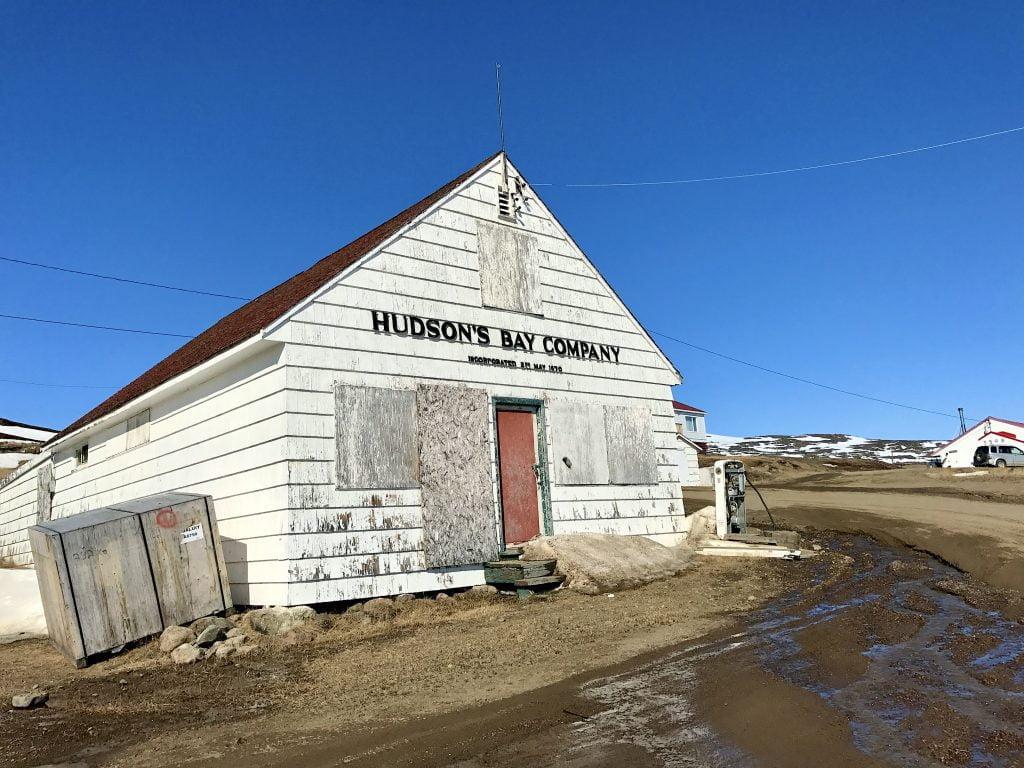 Hudson's Bay building Iqaluit