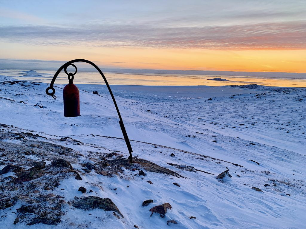 Mysterious red bell iqaluit