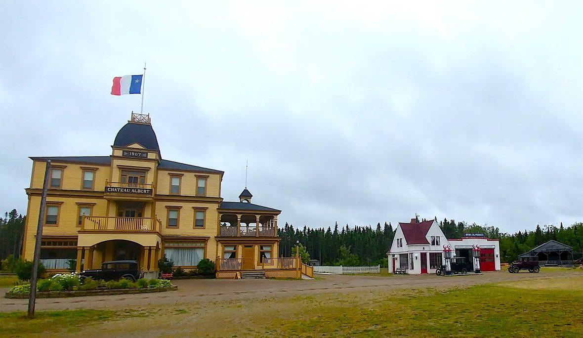 New Brunswick - Hotel at Acadian Village