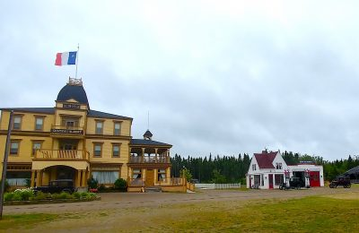 New Brunswick - Hotel at Acadian Village