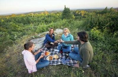 Friends picnic-thunder-bay