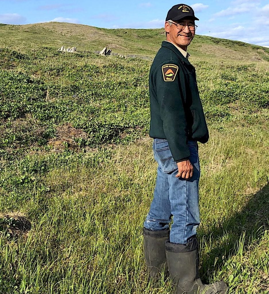 Senior park ranger Richard R Gordon Government of Yukon