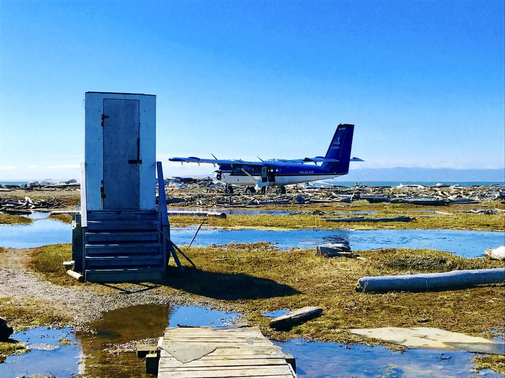 Outhouse-Herschel-Island-airstrip-yukon