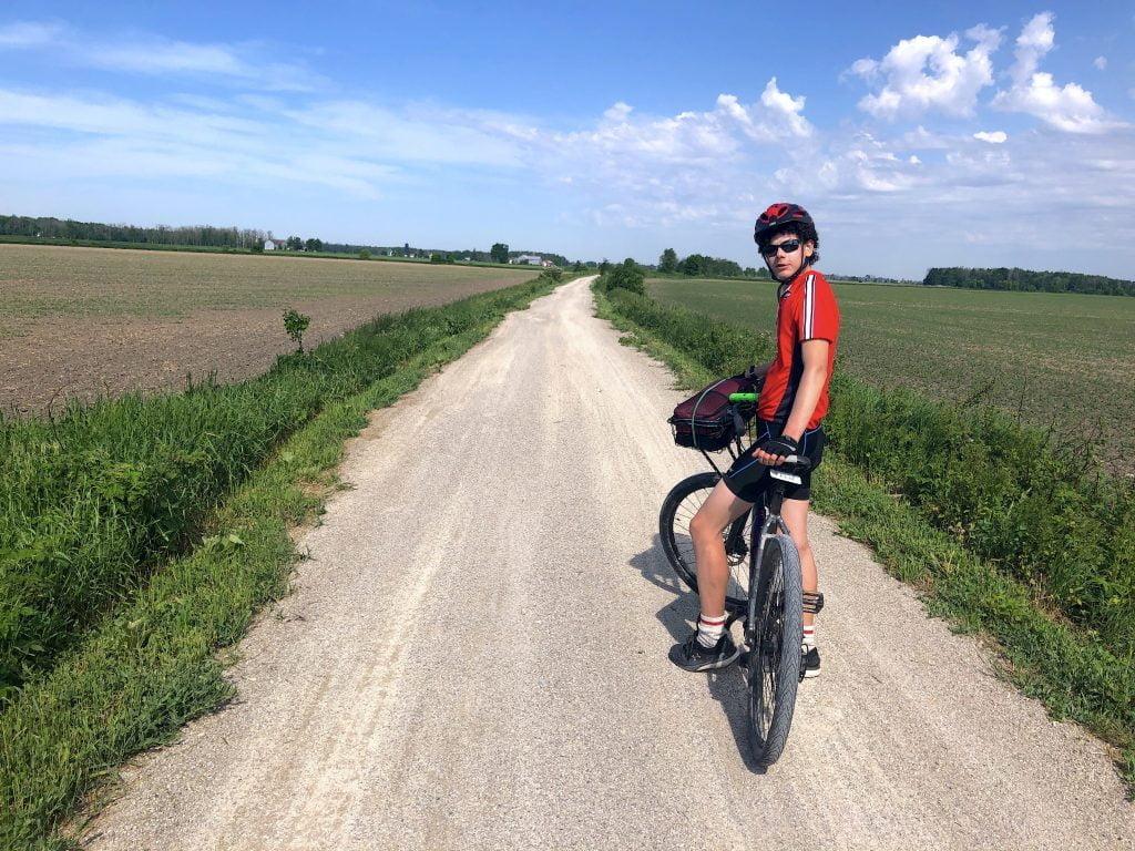 Felix_on the g2g cycling trail