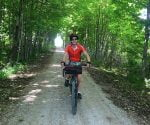 cycling the g2g trail