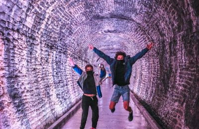 Brockville Railway Tunnel - photo by Rick Eckley, Blue Motel Room Photography