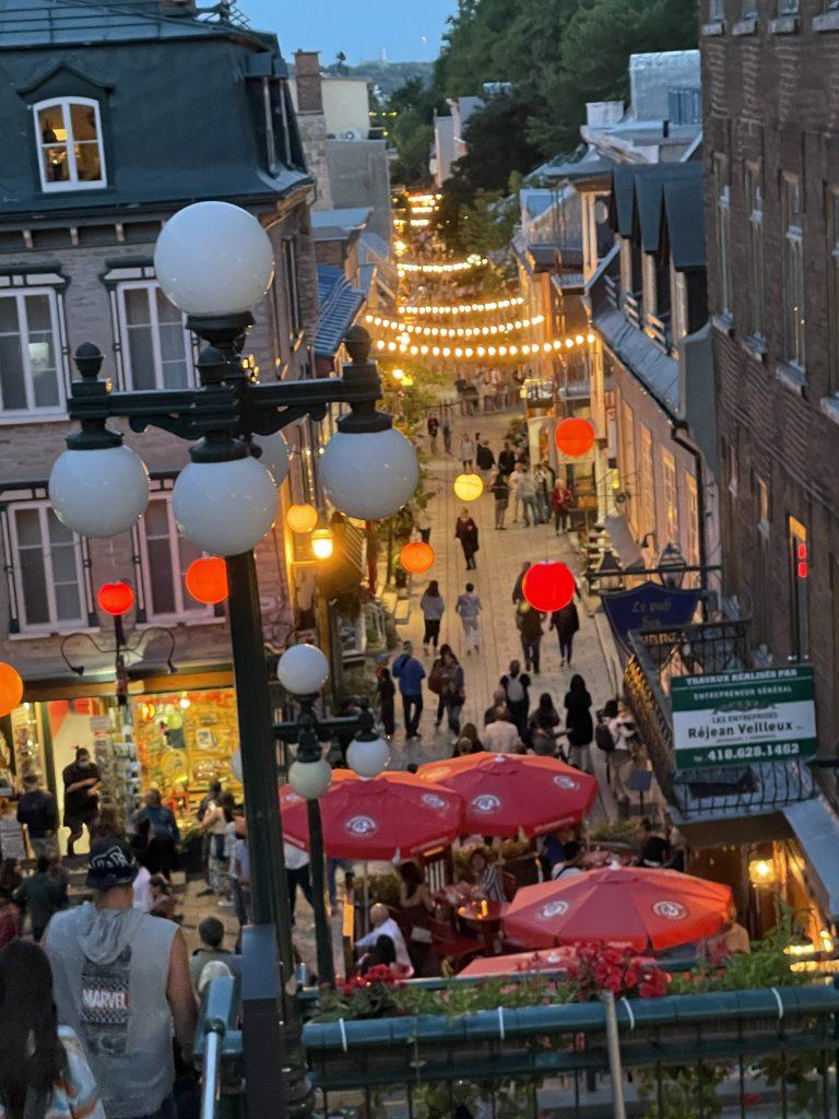 Quebec City_Rue du Petit-Champlain, Quebec City, Quebec
