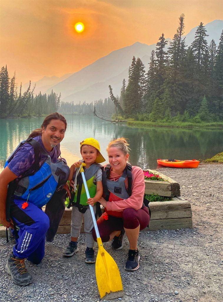 brijbassi-family-big-canoe-tour-banff-canoe-club
