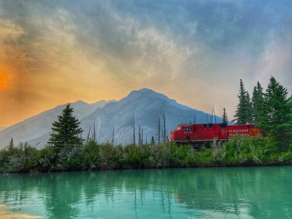 freight-train-in-banff-national-park